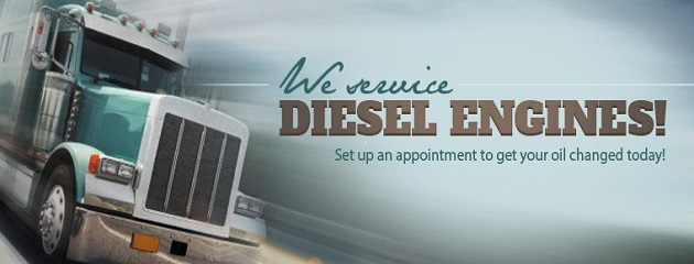 We Service Diesel Engines